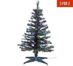 buy home 3ft fibre optic tree green at argos co uk
