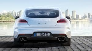 Porsche Panamera S E Hybrid - 2014 porsche panamera s e hybrid rear hd wallpaper 26