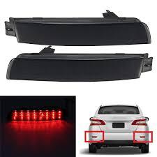nissan 350z tail lights pair led brake tail light rear bumper reflector lamp for nissan