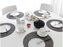 placemats for round table table placemats burke decor