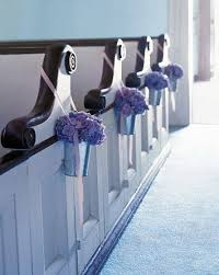 pew decorations for weddings easy diy wedding pew flowers