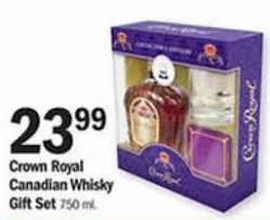 crown royal gift set black friday deal crown royal canadian whisky gift set 750 ml