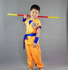 goku costume ebay