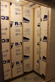 How To Insulate Basement Walls by Insulating Basement Walls Twofeetfirst