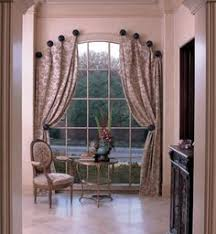 Curved Window Curtains Unique Arch Window Shades For Beautiful Houses Drapery Room