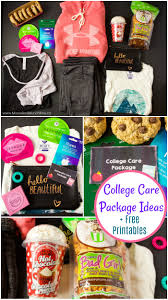 college care package college care package ideas plus free printables munchkins