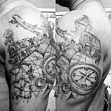 design ideas tattoos 75 travel tattoos for men adventure design ideas