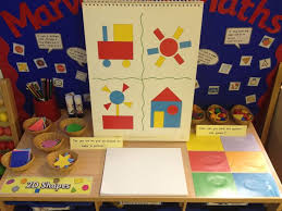 interactive maths display 2d shapes and sorting maths