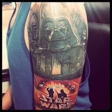 crazy star wars tattoos photo collection u2014 geektyrant