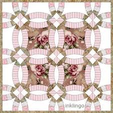 wednesday tute 10 u2013 double wedding ring u2013 all about inklingo blog