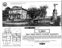 sears house plans the elmhurst one of sears first brick veneer