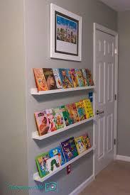 Kids Bookshelves by Wall Bookshelves For Kids Lv Designs