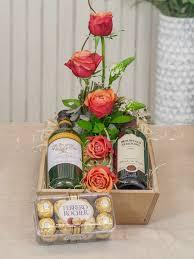 flowers wine flowers wine and chocolate sa florist