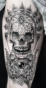 35 amazing skull tattoos for and tattooton