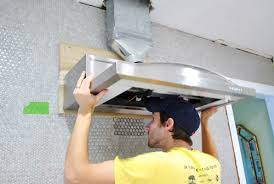 Microwaves That Mount Under A Cabinet by Replacing A Hanging Microwave With A Range Hood Young House Love