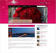 Wedding Website Free 37 Free Wedding Website Themes U0026 Templates Free U0026 Premium Templates