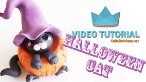 Halloween Cake Toppers How To Make A Halloween Cake Topper Cake Decorating Tutorial