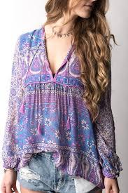 lavender blouses spell boho blossom lavender blouse bohemian style