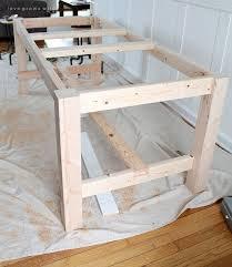 Diy Farmhouse Table And Bench Best 25 Farmhouse Table Ideas On Pinterest Farmhouse Dining