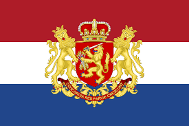 an alternative dutch flag combining the classic red white blue