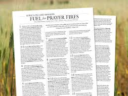 pray africa inland mission usa