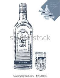 Crystal Comfort Liqueur Gin Bottle Stock Images Royalty Free Images U0026 Vectors Shutterstock