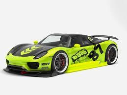 Porsche 918 Concept - porsche 918 spyder chimera one concept by milestag 3docean