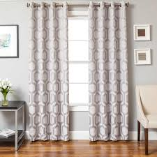 Eclipse Kendall Curtains Softline Home Fashions Drapery Trento Panel U0026 Decorative Pillows
