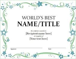 award templates free word certificates officecom certificate