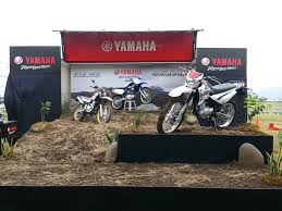 motocross bikes philippines yamaha officially launches xtz 125 and serow 250 motorcycle