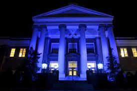 emory henry college lights it up blue