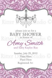 elegant baby shower invitations templates zone romande decoration