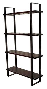 Metal And Wood Bookshelves by Astonishing Iron And Wood Bookcase 68 For Your Library Bookcases