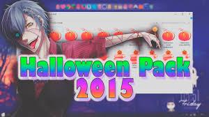 halloween background pack halloween pack 2015 personalizacion u0026 recursos youtube