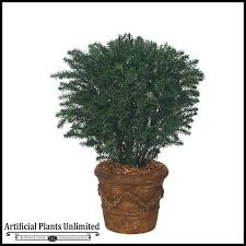 37in outdoor artificial taxus yew