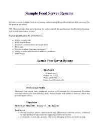Resume Examples For Cashier Positions Download Banquet Server Resume Haadyaooverbayresort Com