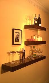 floating wood shelves wall shelf walnut color 48 x 9 5 x 3