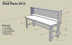 Custom Desk Plans My Custom Desk And Shelving Unit Album On Imgur