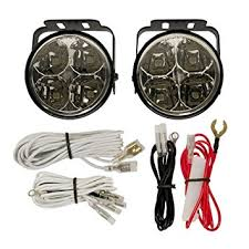 round led driving lights amazon com blazer ax4020k axxent round led driving light kit