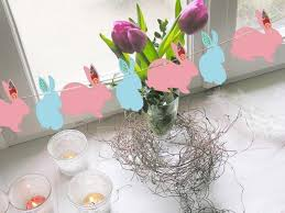 Easter Home Decorating Ideas Quick Easter Decorating Ideas With Easter Bunnies Simple Crafts