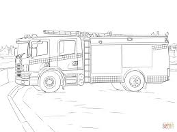fire truck coloring page free printable coloring pages rescue