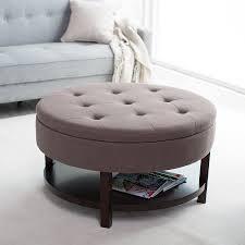 Storage Ottoman Table by Stylish Round Storage Ottoman U2014 Optimizing Home Decor Ideas