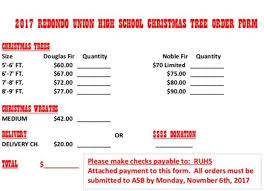 ruhs band u0026 guard u2013 asb 2017 christmas tree u0026 wreath fundraiser