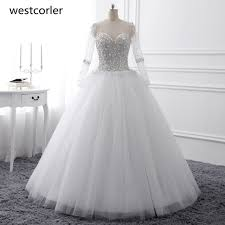 wedding dress sheer straps sleeve wedding dresses 2017 bridal gowns with lace up
