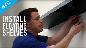 How High Should I Hang A Picture by How To Hang Floating Shelves On A Stud Wall Youtube