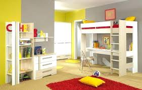 twin bunk beds with desk and stairs loft bed underneath design