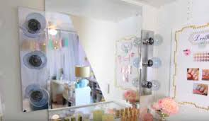 Diy Makeup Vanity With Lights Vanity Mirror Lighting Ideas Diy Projects Craft Ideas U0026 How To U0027s