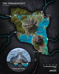 Maps O The Forsaken Rift Was Conceived As A Map Based Mini Setting That