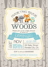 woodland baby shower invitations woodland baby showers ideas woodlands and glitter baby shower
