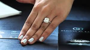 radiant cut engagement ring 1 5 carat radiant cut engagement ring with halo facing up out